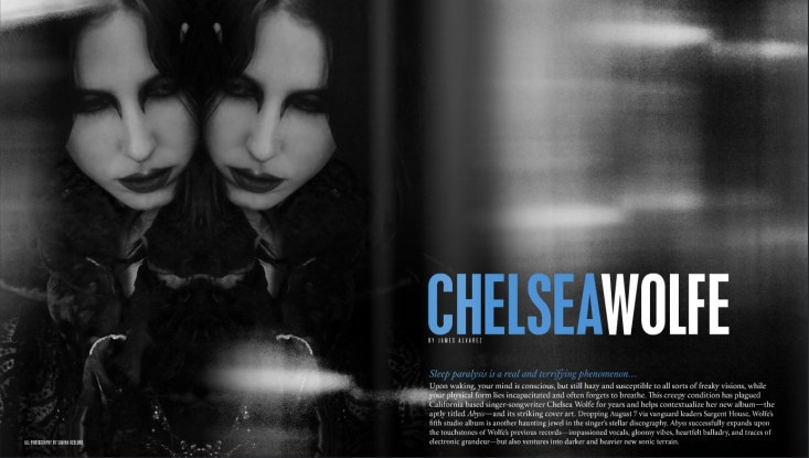 Chelsea Wolfe cover story. Issue 19