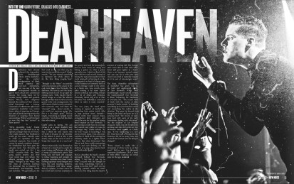 Deafheaven interview. Issue 21