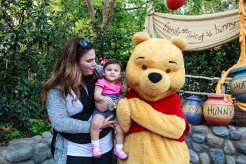 Lucy & Pooh @ The Hundred Acre Wood.