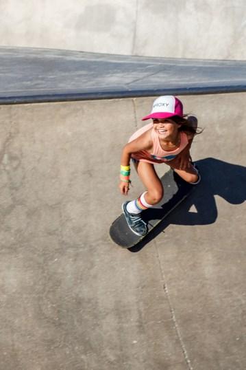Sky Brown @ Venice Beach Skate Park