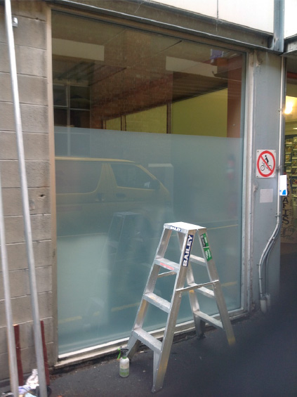 13 Shopfront Replacement in Topham Mall