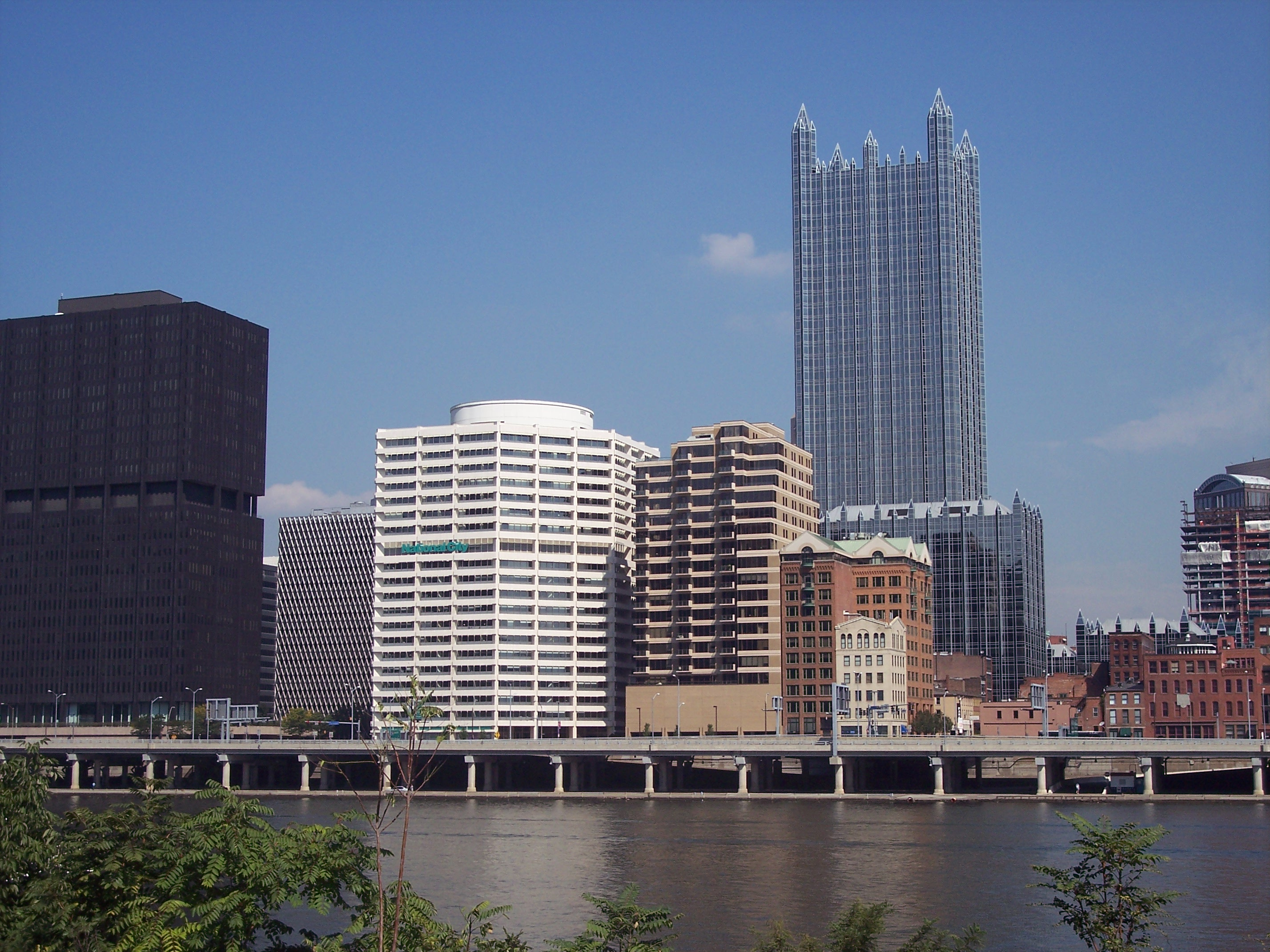 A Portion of Downtown Pittsburgh