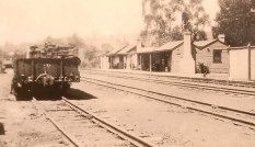 Historical picture of Gellibrand Station