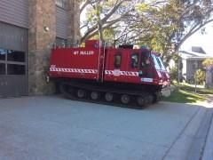 Mt Buller fire truck
