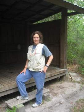 Sandra-Schmid-hiking-Blackwater-State-Forest-Florida-Trail-Association-Panhandle-Trace-Hike-2011
