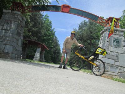Jim-Schmid-with-Bacchetta-Giro-recumbent-at-Alabama-border-on-Silver-Comet-Trail-GA-2015