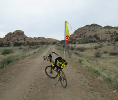 Jim-Schmid's-Bacchetta-Giro-recumbent-on-Iron-King-Trail-Prescott-AZ-4-7-2016