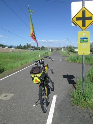 Jim-Schmid's-Bacchetta-Giro-recumbent-on-Latah-Trail-Moscow-to-Troy-ID-5-9-2016
