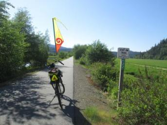 Jim-Schmid's-Bacchetta-Giro-recumbent-at-Milepost-22-Trail-of-the-Coeur-d'Alenes-ID-5-13-2016