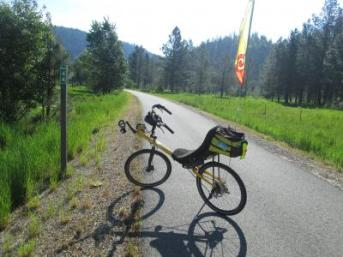 Jim-Schmid's-Bacchetta-Giro-recumbent-at-Milepost-44-Trail-of-the-Coeur-d'Alenes-ID-5-14-2016