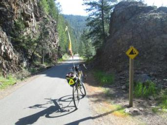 Jim-Schmid's-Bacchetta-Giro-recumbent-on-Trail-of-the-Coeur-d'Alenes-ID-5-14-2016