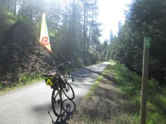 Jim-Schmid's-Bacchetta-Giro-recumbent-at-Milepost-5-Trail-of-the-Coeur-d'Alenes-ID-5-12-2016