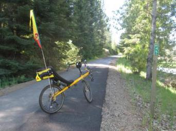 Jim-Schmid's-Bacchetta-Giro-recumbent-at-Milepost-45-Trail-of-the-Coeur-d'Alenes-ID-5-14-2016