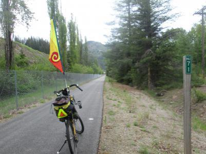 Jim-Schmid's-Bacchetta-Giro-recumbent-at-Milepost-71-Trail-of-the-Coeur-d'Alenes-ID-5-15-2016