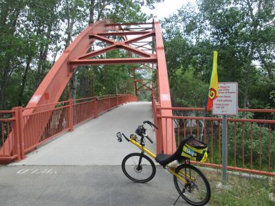 Jim-Schmid's-Bacchetta-Giro-recumbent-on-Boise-River-Greenbelt-ID-5-7-2016