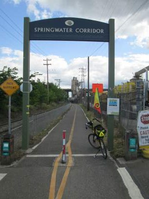 Jim-Schmid's-Bacchetta-Giro-recumbent-at-western-end-of-Springwater-Corridor-Rail-Trail-Portland-OR-4-25-2016