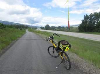 Jim-Schmid's-Bacchetta-Giro-recumbent-on-Bitterroot-Trail-Missoula-to-Victor-MT-5-19-2016