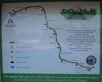 Doodle-Trail-map-sign-Pickens-SC-10-24-2016