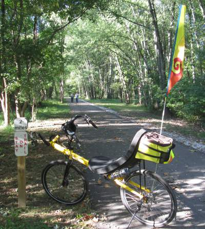 Jim-Schmid's-Bacchetta-Giro-recumbent-MP-2-Heritage-Ext-Rail-Trail-PA-10-5-2016