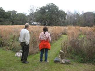 Ray-Young-and-Sandra-Schmid-at-Mepkin-Abbey-Moncks-Corner-SC-12-29-2008