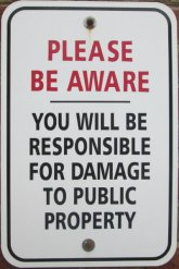 You-will-be-responsible-for-damage-to-public-property-sign-Monon-Trail-IL-2015-08-23