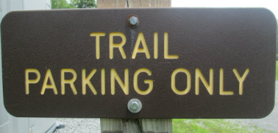 Trail_parking_only_sign_Greenbrier-River-Trail-WV-06_21-24-2015