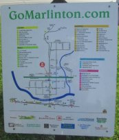 Marlinton_town_map_sign_Greenbrier-River-Trail-WV-06_21-24-2015
