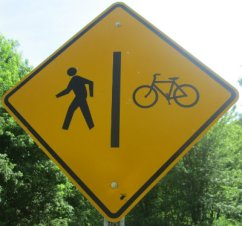 Pedestrian_bicycle_symbol_sign_Greenbrier-River-Trail-WV-06_21-24-2015