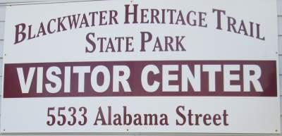 Visitor-Center-sign-Blackwater-Rail-Trail-FL-02-16-2016