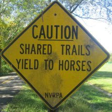 Caution-shared-trails-yield-to-horses-sign-W&OD-Rail-Trail-VA-2015-10-6&7
