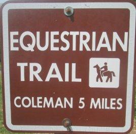 Equestrian-Trail-sign-Pere-Marquette-MI-2015_09-06