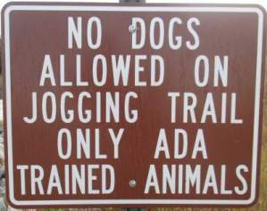 No-dogs-allowed-sign-McQueens-Tybee-Island-Rail-Trail-GA-02-20-2016