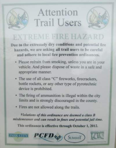 Fire-hazard-sign-Union-Pacific-Rail-Trail-Park-City-to-Echo-UT-5-1-2016