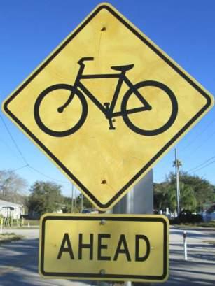 Bicycle-symbol-sign-Pinellas-Rail-Trail-FL-1-25-2016