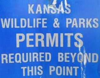 Permits-required-sign-Prairie-Spirit-Trail-Ottawa-to-Iola-KS-6-3-2016