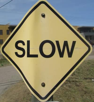 Slow-sign-Missoula-River-Front-Trails-MT-5-18-2016