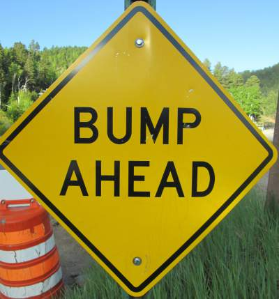 Bump-ahead-sign-Mickelson-Trail-SD-5-28-to-6-1-2016