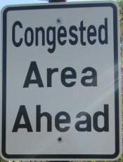 Congested-area-sign-Pinellas-Rail-Trail-FL-1-25-2016
