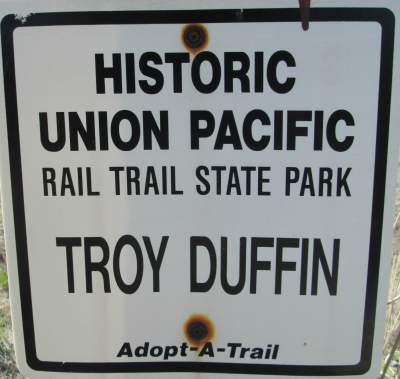 Adopt-a-trail-sign-Union-Pacific-Rail-Trail-Park-City-to-Echo-UT-5-1-2016