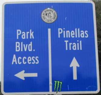 Direction-sign-Pinellas-Rail-Trail-FL-1-25-2016