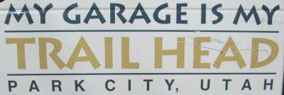 My-garage-is-my-trailhead-sign-Union-Pacific-Rail-Trail-Park-City-to-Echo-UT-5-1-2016
