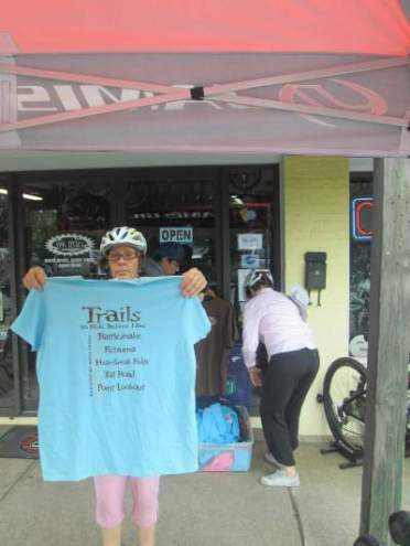 Sandra-Schmid-and-Sharon-Ward-Blk-Mtn-NC-ride-7-30-2016