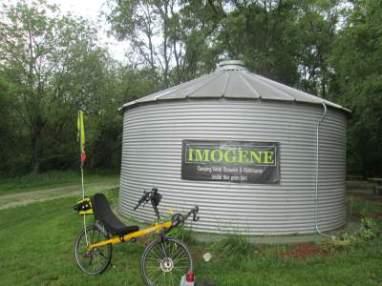 Jim-Schmid's-Bacchetta-Giro-recumbent-shower-house-Wabash-Trail-IA-5-17-17
