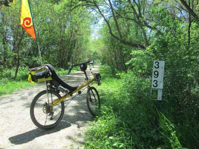 Jim-Schmid's-Bacchetta-Giro-recumbent-MP-393-Wabash-Trail-IA-5-16-17