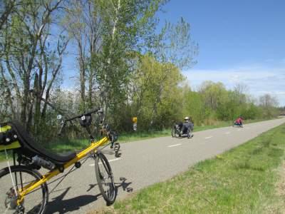 Trikes-and-Jim-Schmid's-Bacchetta-Giro-recumbent-Paul-Bunyan-Trail-MN-5-14-17