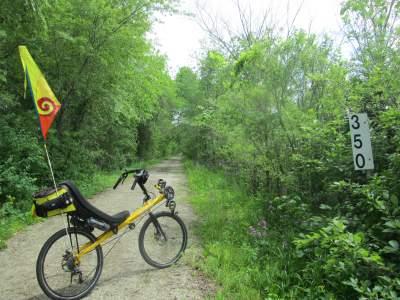 Jim-Schmid's-Bacchetta-Giro-recumbent-MP-350-Wabash-Trail-IA-5-18-17