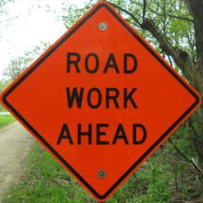 Road-work-sign-Elroy-Sparta-Trail-WI-5-8&9-17