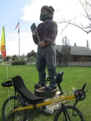 Jim-Schmid's-Bacchetta-Giro-recumbent-Statue-Paul-Bunyan-Trail-MN-5-12-17
