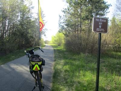 Jim-Schmid's-Bacchetta-Giro-recumbent-RP-6-Paul-Bunyan-Trail-MN-5-13-17
