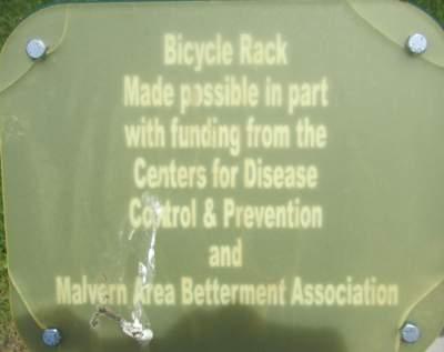 Bicycle-rack-sign-Wabash-Trail-IA-5-18-17